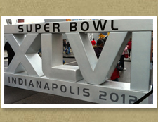 Super Bowl 2012 in Indianapolis